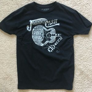 Johnny Cash band tee, size L. Great condition